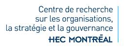 Centre de recherche sur les organisations, la stratégie et la gouvernance Logo